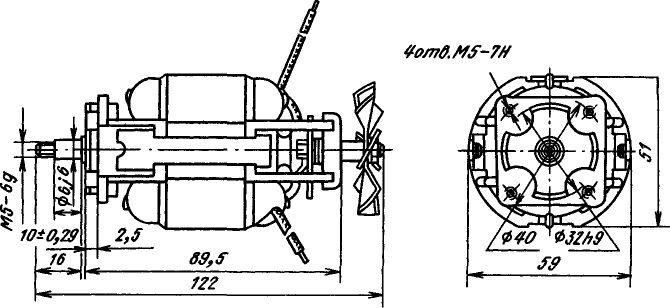 двигателей ДК 58-60-12