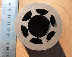 Статор электродвигателя из магнитной стали